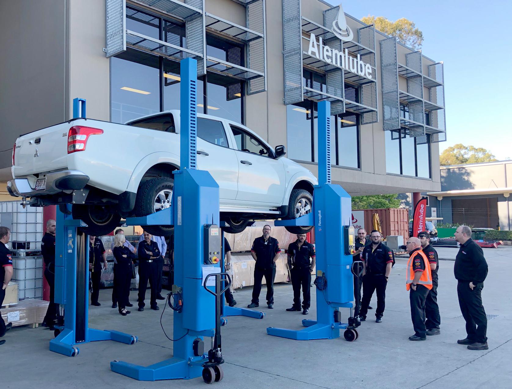 Repco Sales Team visit Alemlube Queensland